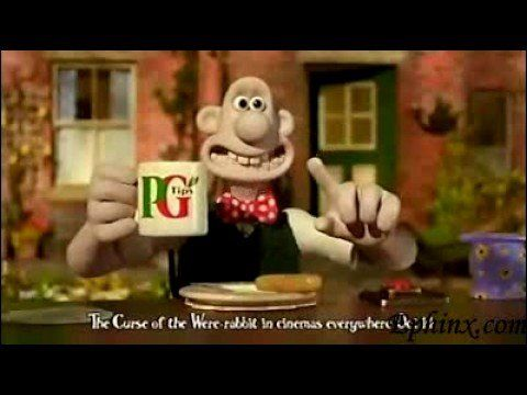 PG Tips: Wallace & Gromit Advert (2005) - YouTube