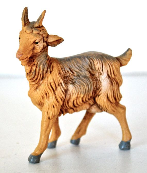 Fontanini Nativity Village Goat Figure by goodygirlred on Etsy