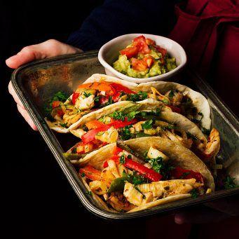 Fajitas de pollo con verduras - Receta mexicana auténtica