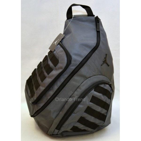 Nike Air Jordan Gray and Black mochila nike para hombre