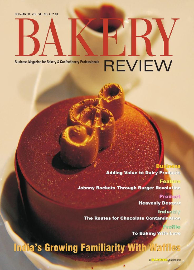 Bakery Review ( Dec-Jan 2016)  In  this issue, we have explored the sumptuous world of waffles.  We have covered the growing popularity of waffles in India, their future popularity in the country, and also the history of waffles. We have also presented some popular waffle dishes. The Business Story deals with  the growing market for value added dairy products, where the entrepreneurs in the Indian dairy industry are getting attracted to.  A feature on Johnny Rockets' journey in India and…