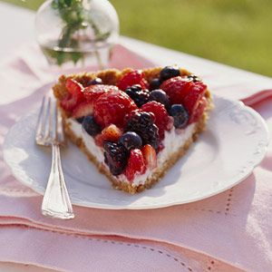 Berry Pie with Creamy Filling from Diabetic Living magazine