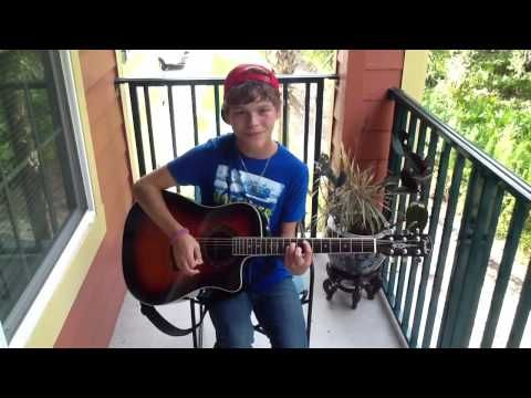 Drake Austin-Anywhere with you by Jake Owen-age 15