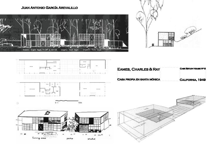 study case house 8 Case study house program intoduction  8: eames house: charles eames: 1949: intact:  home • issues • case houses.
