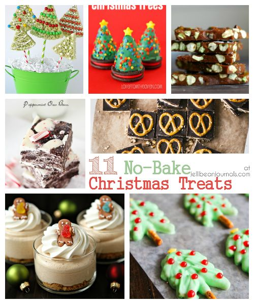 11 No-Bake Christmas Treats - Jellibean Journals