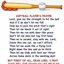 softball quote photos | softball # prayer # softball player prayer # softball saying
