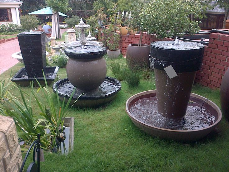 We love water features that are powered by Waterhouse Pumps!