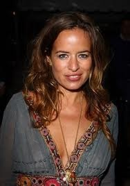 Former model, socialite and jewellery designer Jade Jagger- daughter of Rolling Stone Mick (English) and model turned social/human rights advocate Bianca (Nicaraguan).