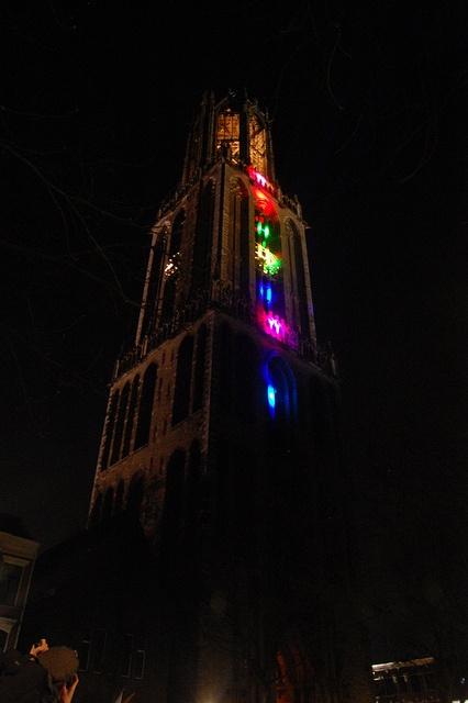 Dom tower, Lumen Utrecht  by Dijkie!, via Flickr