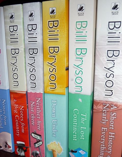 Bill Bryson books