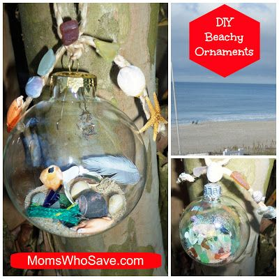 Diy beach ornaments a fun way to remember your beach - Ornament tapete weiay ...