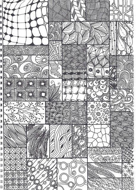 zentangle 2: #zentangle #drawing #line