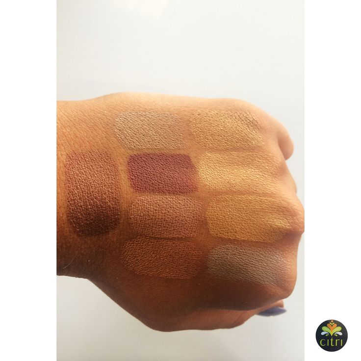 CITRI PRESSED SHADOWS. 25 beautiful pressed shadows available in a range of shades from naturals to metallics