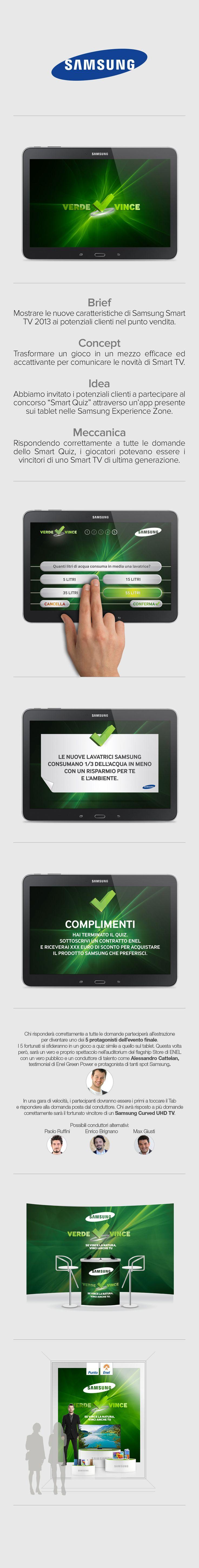 #ENEL #Samsung Concorso #VerdeVince #Dandelio