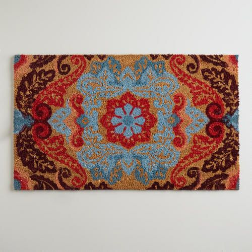 One of my favorite discoveries at WorldMarket.com: Natural Juliana Doormat