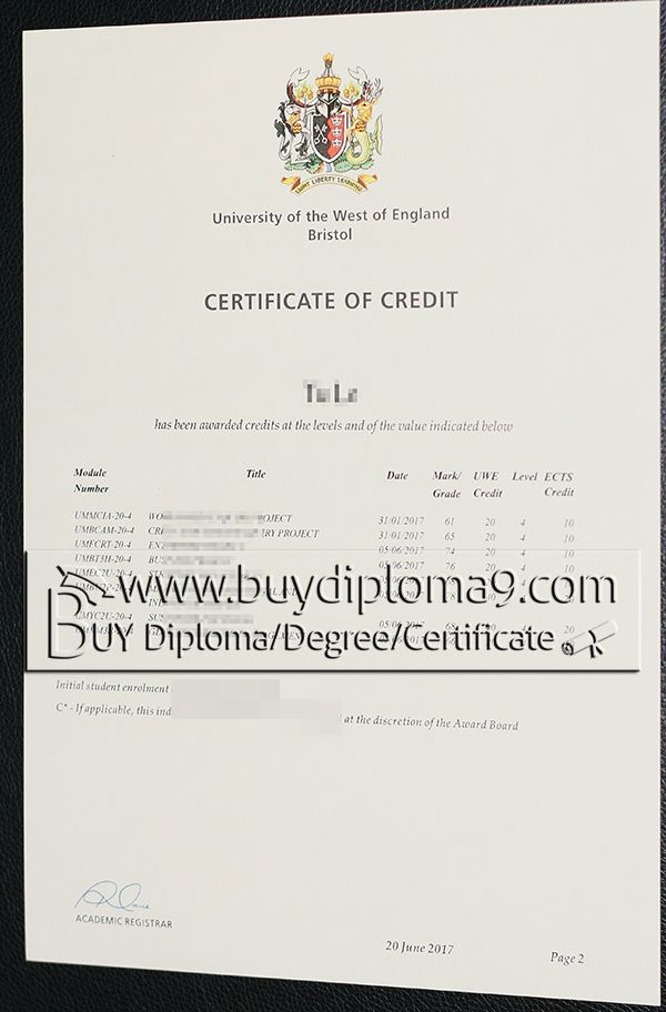 UWE bristol, Buy diploma, buy college diploma,buy university diploma,buy high school diploma.Our company focus on fake high school diploma, fake college diploma university diploma, fake associate degree, fake bachelor degree, fake doctorate degree and so on.  Email: buydiploma@yahoo.com  QQ: 751561677  Skype, Cell, what's app, wechat:+86 17082892425  Website: www.buydiploma9.com
