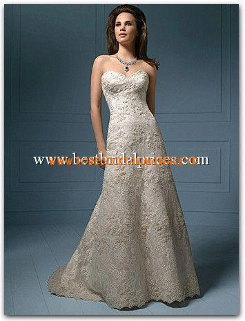 Alfred Angelo Sapphire Robe de Mariée - Style 801