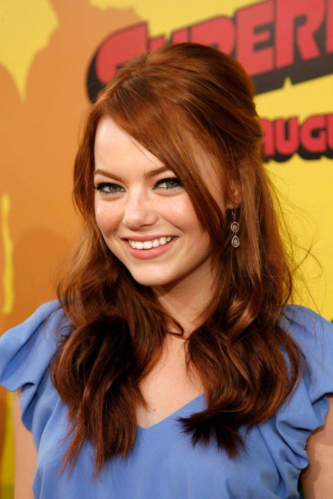 At the Hollywood premiere of Superbad. See all of Emma Stone's best looks.
