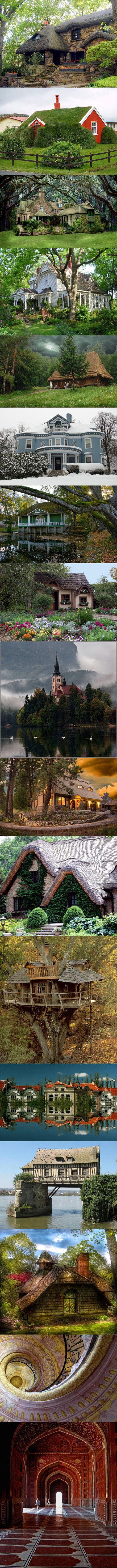 i want a fairy tale house!