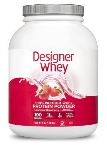 Designer Protein Designer Whey Luscious Strawberry - 4 lbs - http://www.mrvitamins.us/designer-protein/designer-protein-designer-whey-luscious-strawberry-4-lbs/