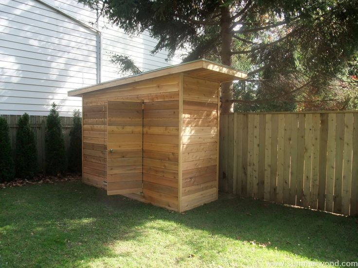 Organize you garden space Summerwood Dune storage shed