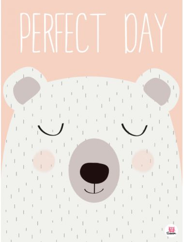 poster perfect day bears pinterest illustrations prints and pattern art. Black Bedroom Furniture Sets. Home Design Ideas