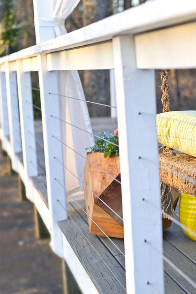 Best 25 diy decking on a budget ideas on pinterest back for Deck makeover on a budget