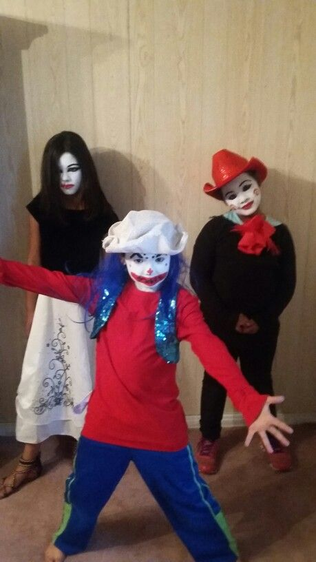 Scaring people and they had fun