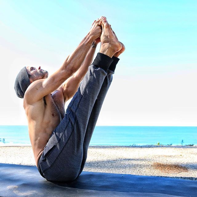 Pin for Later: Namaste: 30 Hot Guys Doing Yoga Who Will Transport You to Total Bliss Touch Your Toes