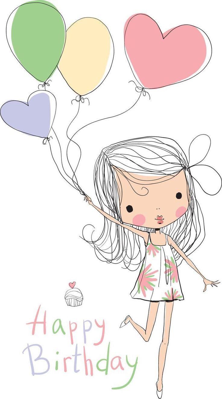 Пятница надписями, нарисовать открытку с днем рождения девушке
