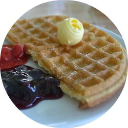 International Waffle Day: A recipe for all four meals. | The 104 Homestead | The 104 Homestead