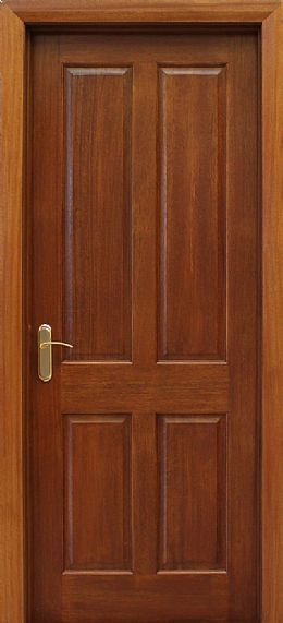 Internal Affairs Interior Designers: 4 Panel Mahogany Door (40mm)