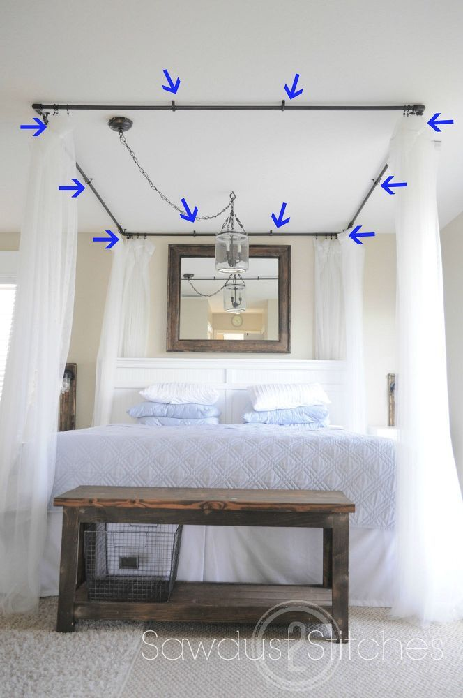 How+to+Make+A+PVC+Bed+Canopy