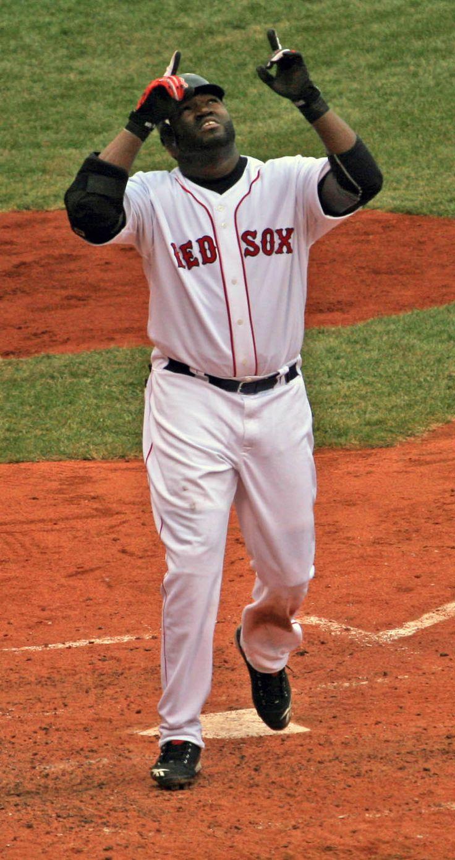 David Ortiz, Boston Red Sox....Fav Red sox player on my fav team...<3