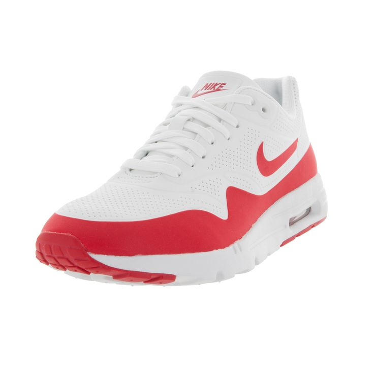 Nike Women's Air Max 1 Ultra Moire Summit /University Red/ Running Shoe