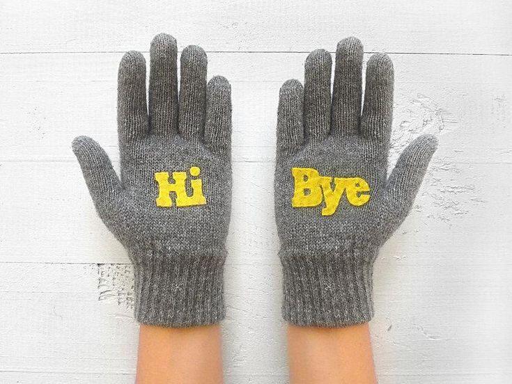 Hi Bye Gloves / Gray