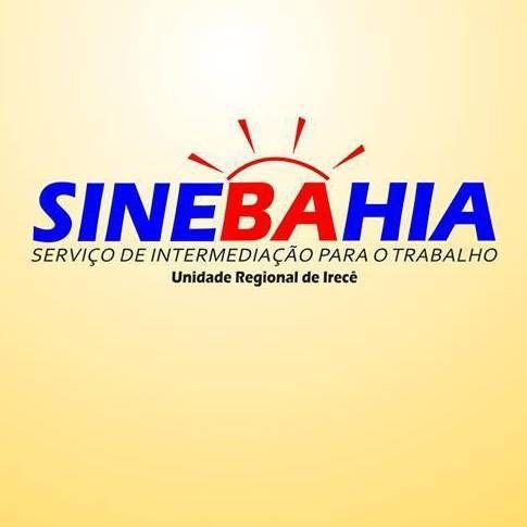 OPORTUNIDADE DE EMPREGO SINEBAHIA - PARA QUINTA (Dia 18/06) até as 15h.
