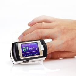 just oximeter. control oxigen in your blood.