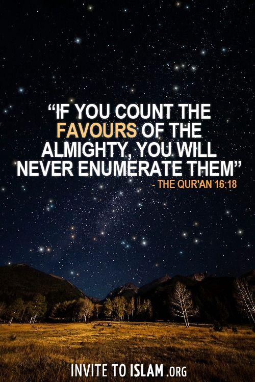 Surah An-Nahl Verse 18