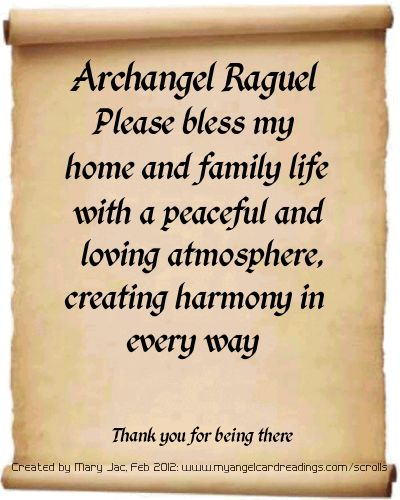Archangel Prayers and Messages on Parchment Scrolls  Thank you for the Angel board, Anne