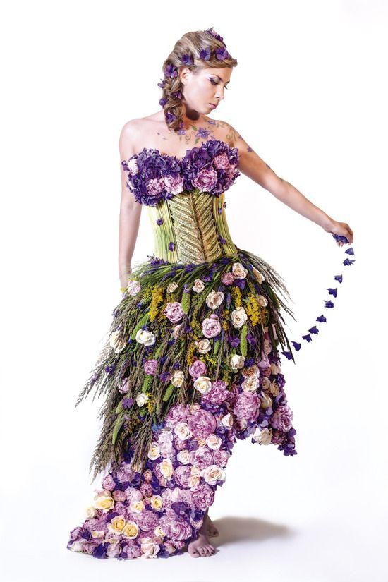 Картинки костюм с цветами