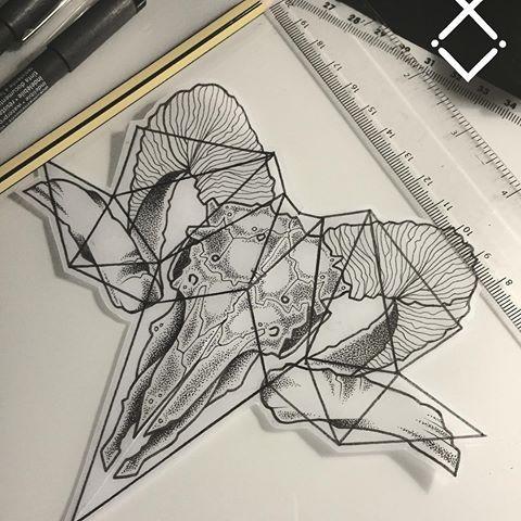 Resultado de imagem para geometric ram