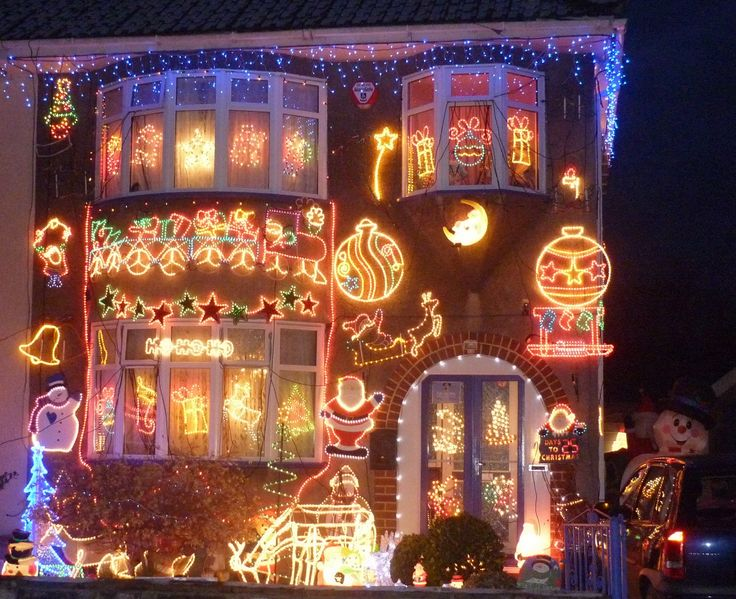Pictures Of Homes Decorated For Christmas best 10+ christmas lights on houses ideas on pinterest | kid