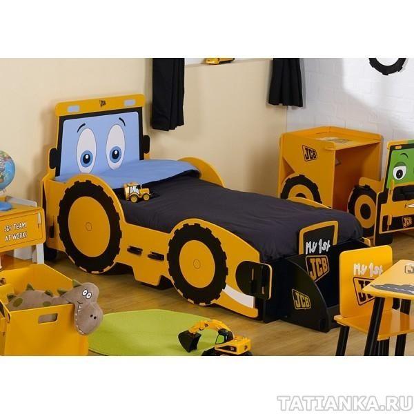 Кровать машина детская - делаем своими руками