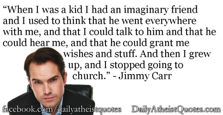 Jimmy Carr - I had an imaginary friend