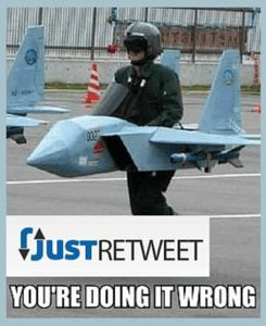 Are you a JustRetweet user? In order to help you maximize your results, here are my reasons for not sharing your submissions (tweets) on Twitter.