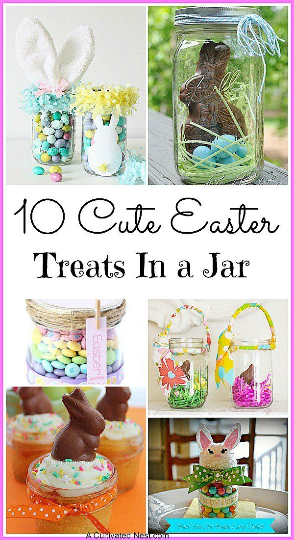 For some cute (and delicious) DIY Easter inspiration, check out these 10 Easter treats in a jar!