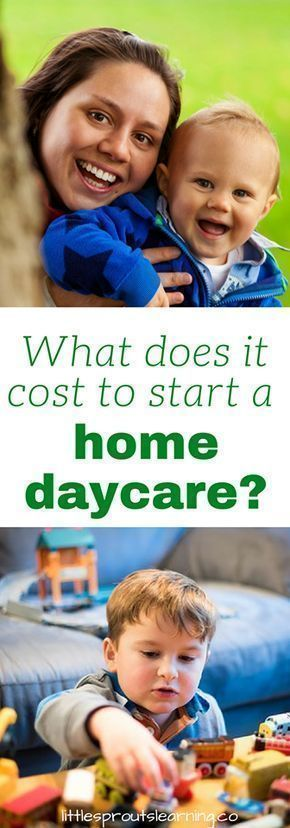 Have you thought about opening your own home daycare? There are many expenses involved in the start up of a family childcare business. Your individual state will differ in what your requirements are, but there are a multitude of things needed to get started in childcare and they all cost money. #startingyourowndaycare #daycarestartupcosts #startingadaycarebusiness #homedaycarebusiness