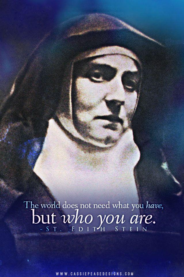 St. Teresa Benedicta of the Cross (Edith Stein) Mobile Wallpaper