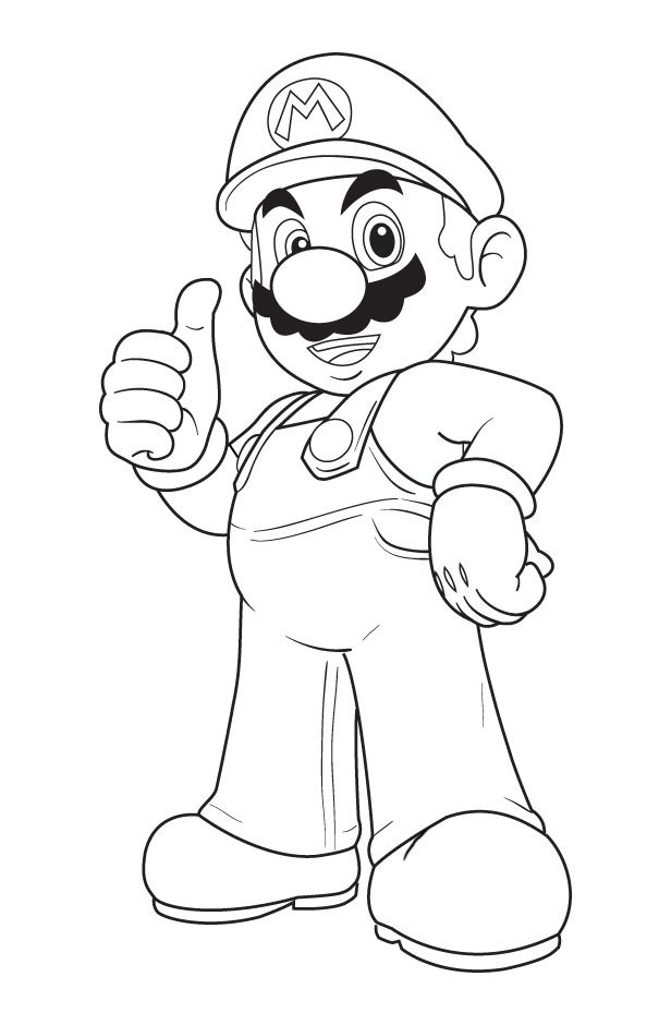 7 best Mario Coloring Pages images on Pinterest | Coloring pages ...